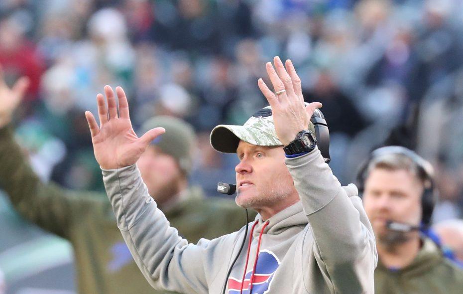 Bills coach Sean McDermott is hoping for more touchdowns (James P. McCoy/Buffalo News)