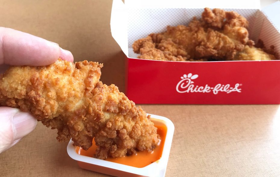 Here are five things to keep in mind as the first Buffalo-area Chick-fil-A opens. Pictured are Chick-fil-A's chick-n-strips.(Sharon Cantillon/Buffalo News)