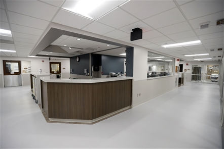 After 13 months of construction, the new 10,000-square-foot, 17-room emergency department will open to patients at 7 a.m. Thursday, Nov. 15, 2018, at DeGraff Memorial Hospital in North Tonawanda.