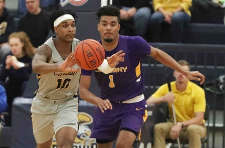Canisius Golden Griffins 66, Albany Great Danes 75