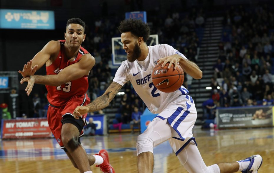 UB's Jeremy Harris. (Sharon Cantillon/Buffalo News)