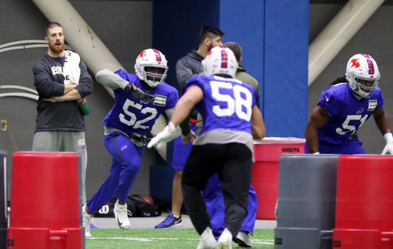 Corey Thompson  signed with the Bills from the practice squad. (John Hickey / Buffalo News)