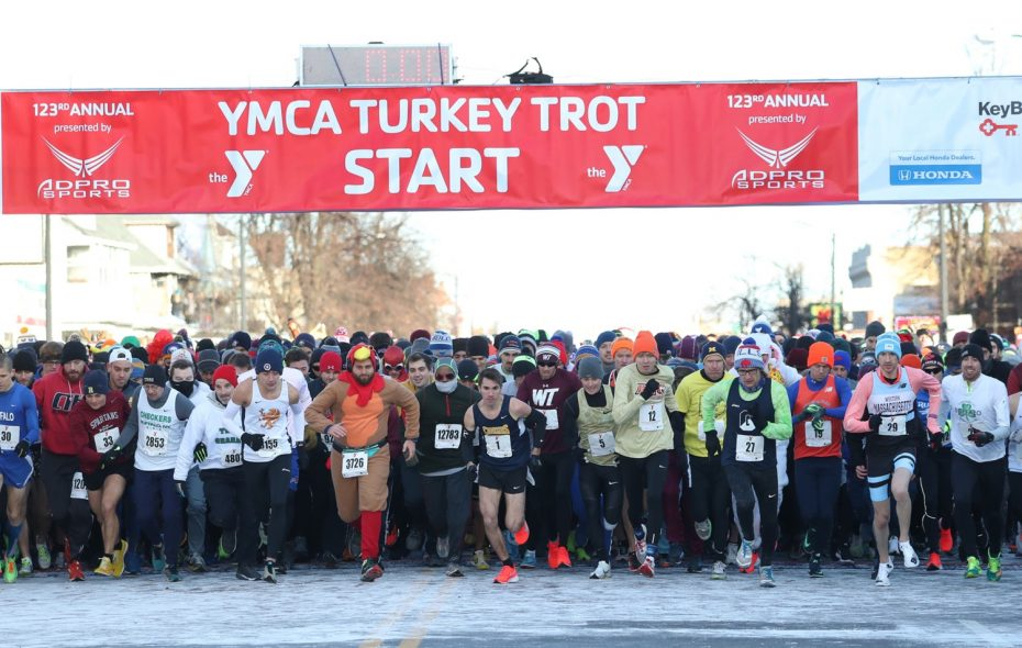 The YMCA Buffalo Niagara Turkey Trot will cost $36 for those who register by the end of Friday; afterward, the cost climbs $5. (News file photo)