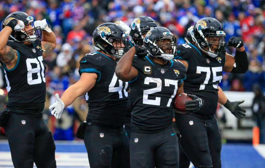 The Jaguars will be without suspended Leonard Fournette against the Colts (Harry Scull Jr./Buffalo News)