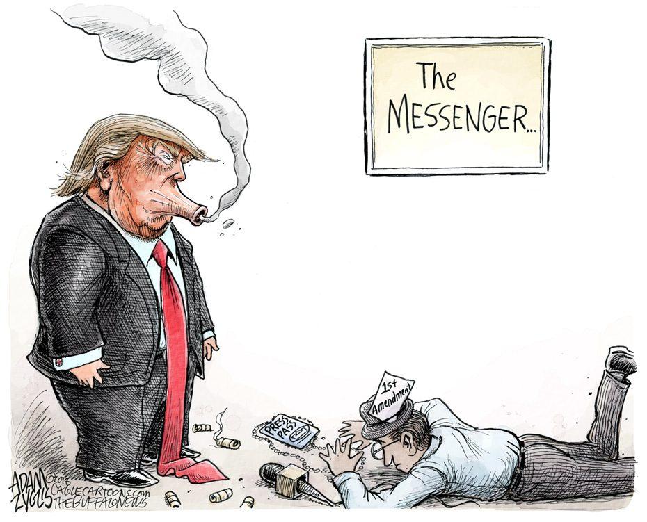 Attacking the press: November 19, 2018
