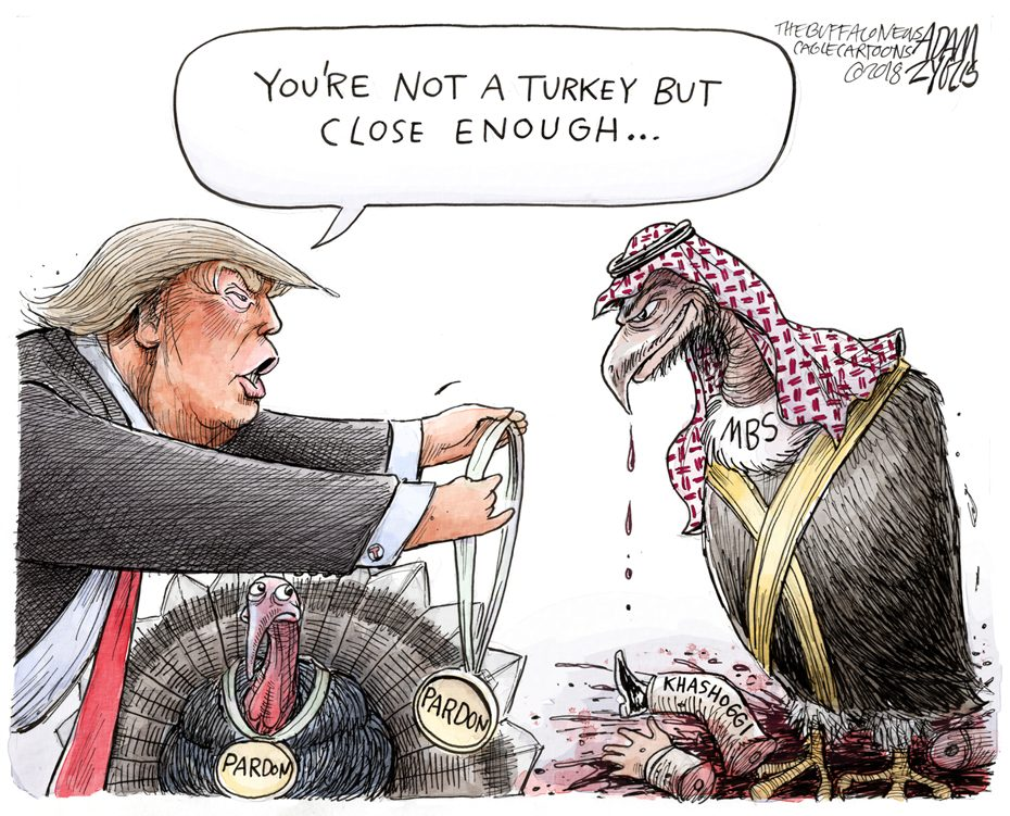 Mohammed bin Salman: November 21, 2018
