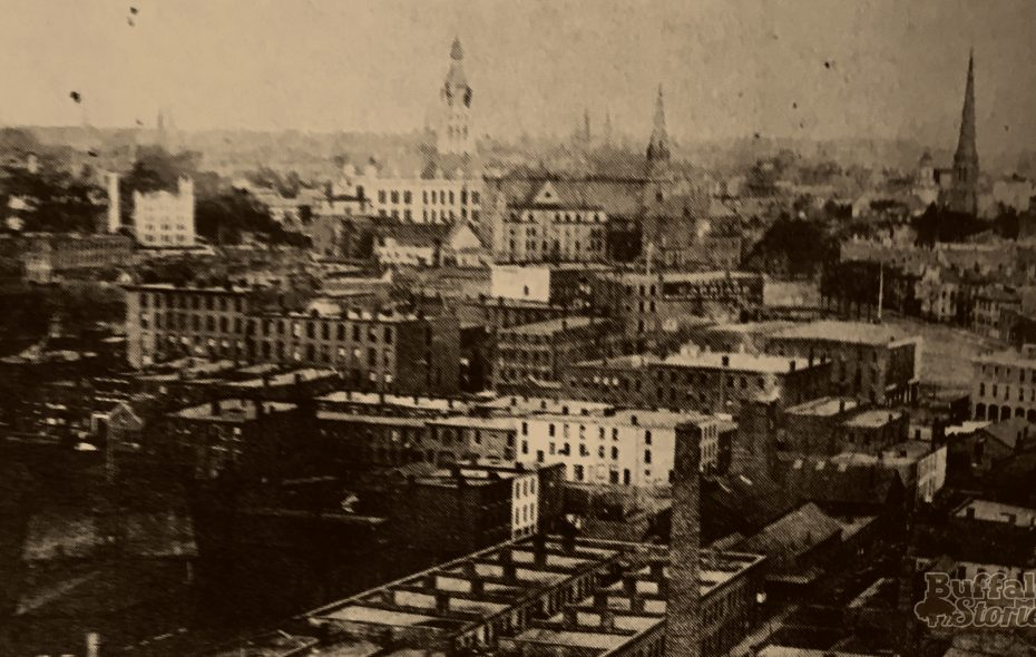 From 1880 to Today: Buffalo's steeple-dotted skyline