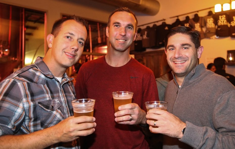 Smiling faces at the 2016 Philosofest in 12 Gates Brewing. The event returns Nov. 21. (Special to The News file photo)