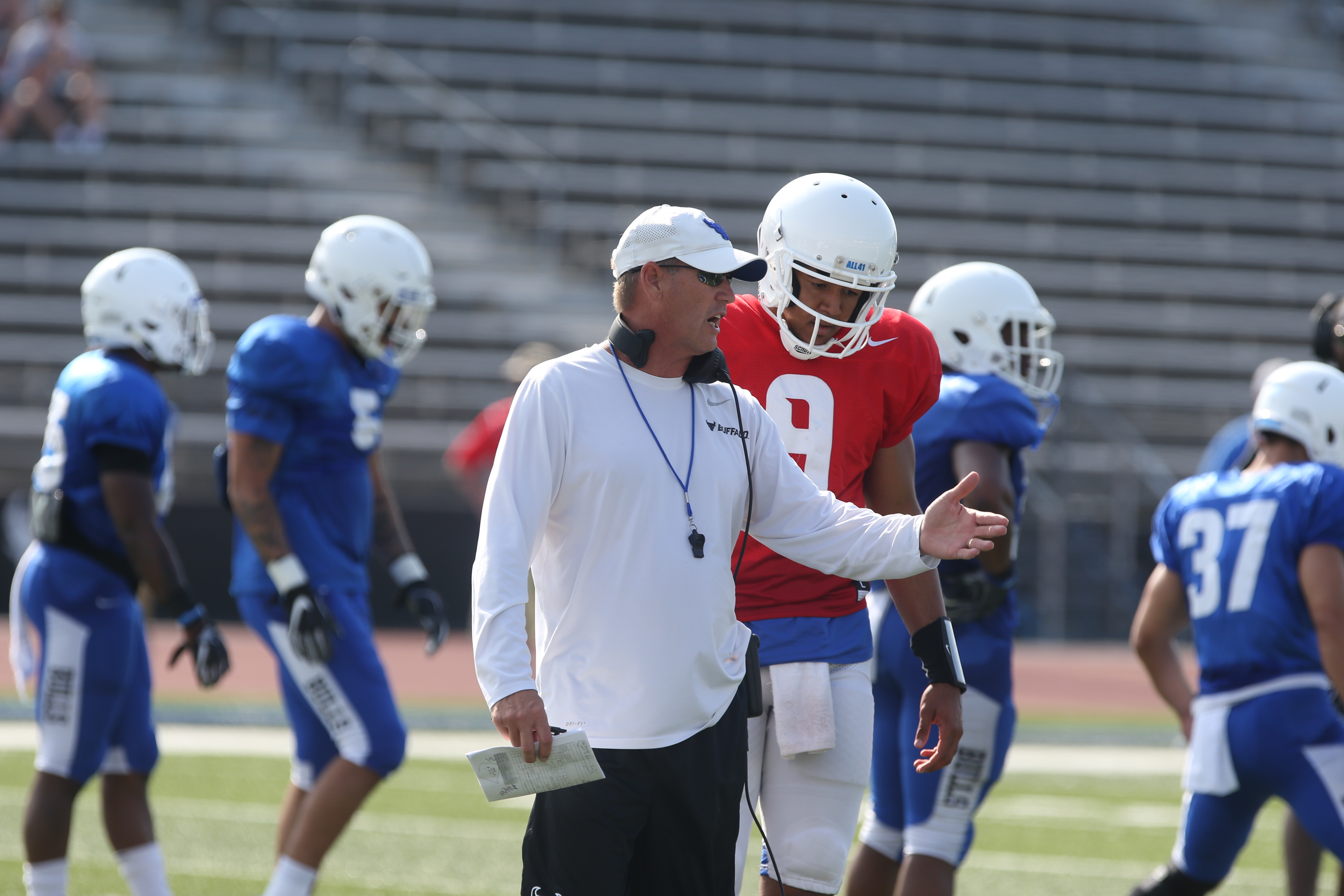 Lance Leipold Charts New Course For Ub Football The Buffalo News