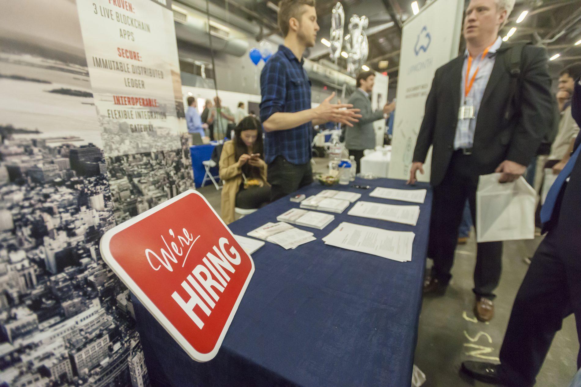 A job market 'at, or near, full employment'
