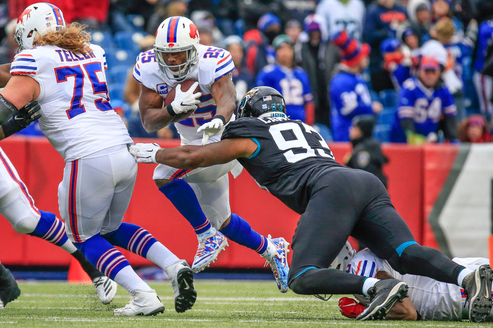 Can much-improved O-line help LeSean McCoy from getting stopped in his tracks?