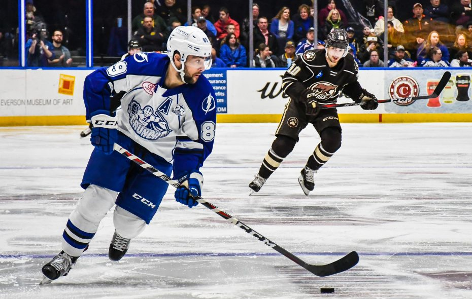 Cory Conacher has been on a scoring tear since returning to the Syracuse Crunch (Photo: Syracuse Crunch)