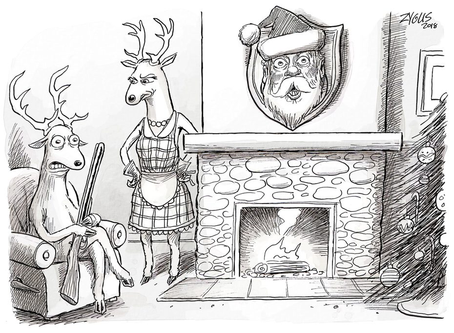Adam Zyglis Cartoon Caption Contest: December 2018