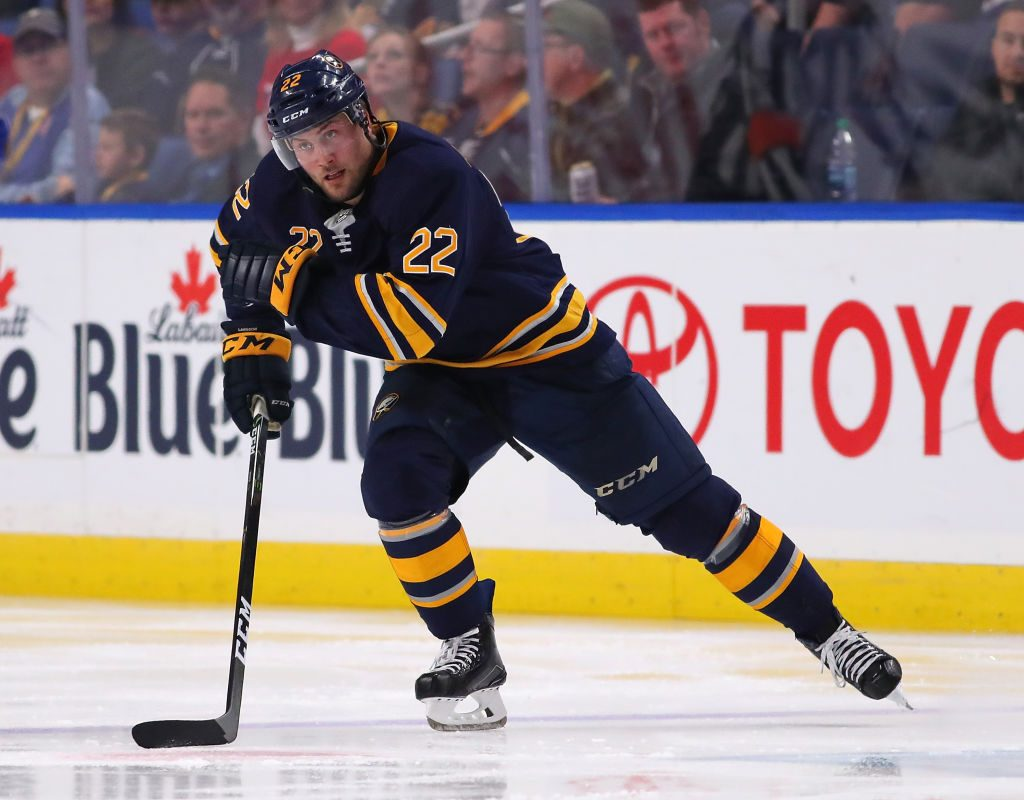 'Everyone is on the same page out there.,' said Sabres forward Johan Larsson. (Getty Images)