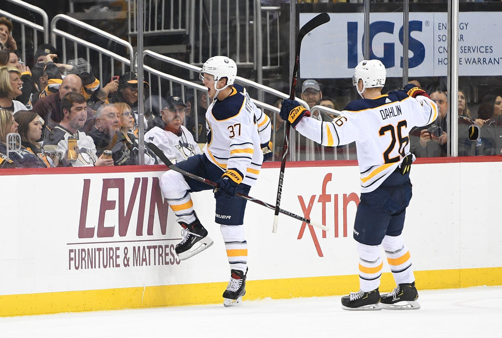 Sabres Rookie Casey Mittelstadt Frustrating Opponents With Defense