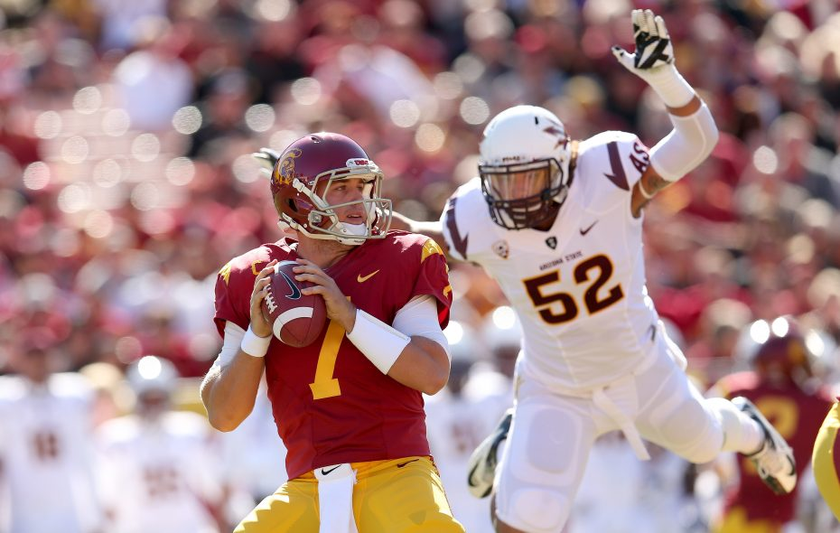Matt Barkley had a standout collegiate career at USC (Getty Images)