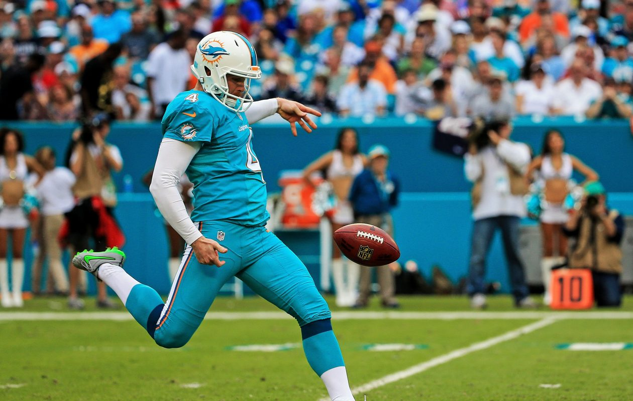 Punter Matt Darr has signed with the Bills. (Getty Images)