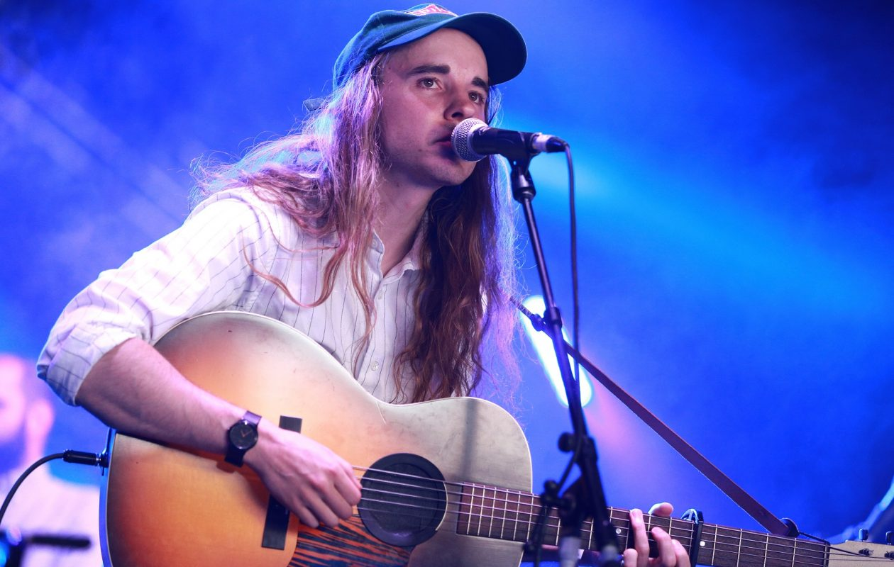 Indie musician Andy Shauf, pictured performing last year in Los Angeles, has scheduled a stop in Buffalo. (Rich Fury/Getty Images)