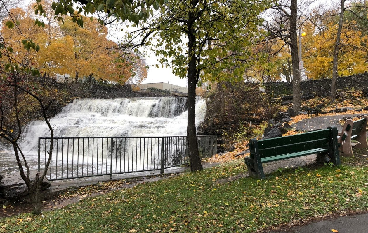 Glen Falls at Williamsville's Glen Park. The village is holding its 10th annual Glen Park Art Festival this July and is seeking applications from local artists. (Buffalo News file photo)