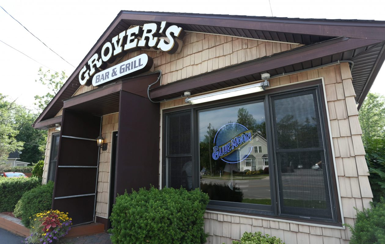 The Town of Amherst plans to sue Grover's Bar & Grill, 9160 Transit Road in East Amherst, for encroaching onto town-owned property. (Sharon Cantillon/Buffalo News file photo)
