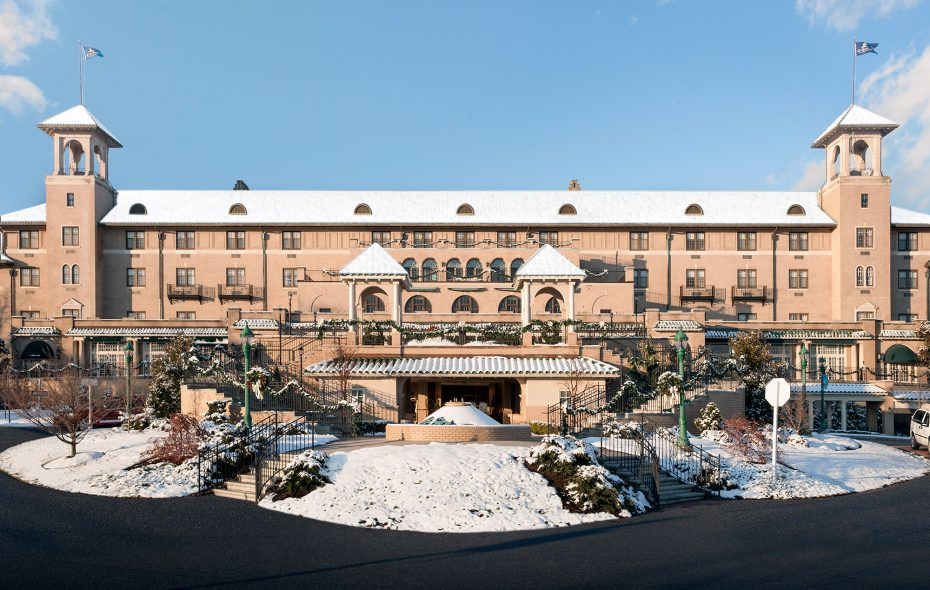 Hotel Hershey is the more upscale Hershey property.