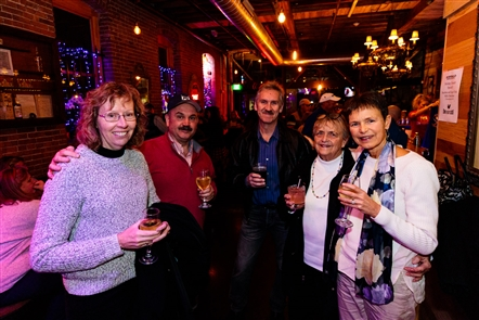 Smiles at Buffalo Distilling Polka Party