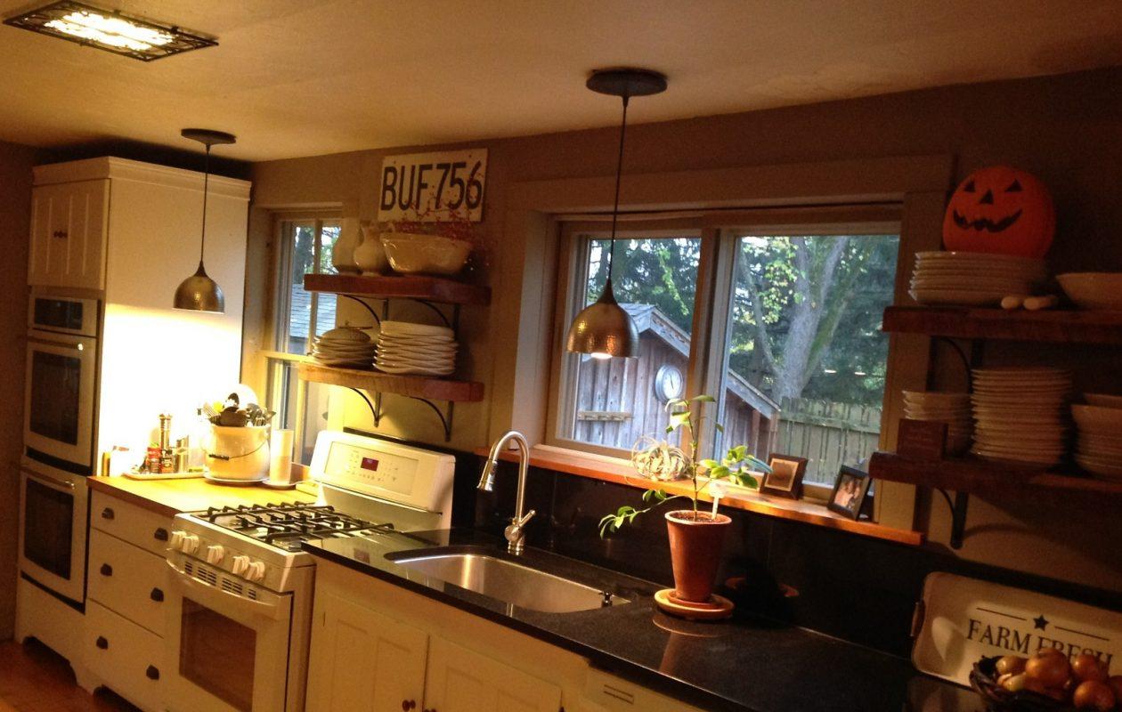 The kitchen at the home of  Kathy and Jim Szramkowski. ( (Photo courtesyKathy Szramkowski)