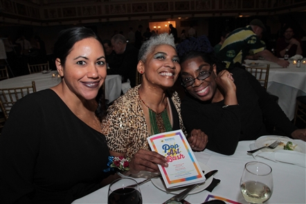 Young Audiences of Western New York hosted its funky gala, the Pop Art Bash, on Friday, Nov. 16, 2018, in Statler City. Food and drink stations, auctions, valet parking and talks by teaching artists were the event's perks.