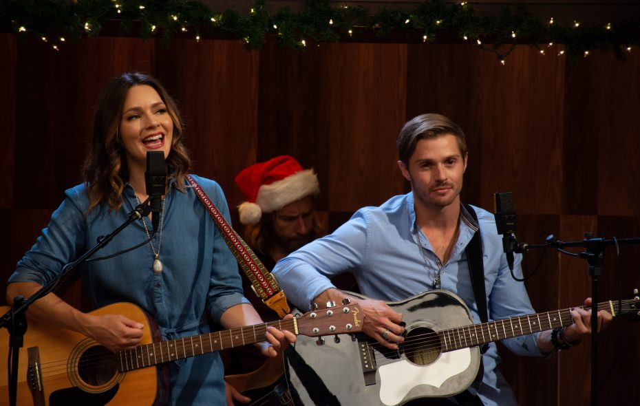 "Two musicians learn to work together in ""Country Christmas Album"" premiering on ION Television."