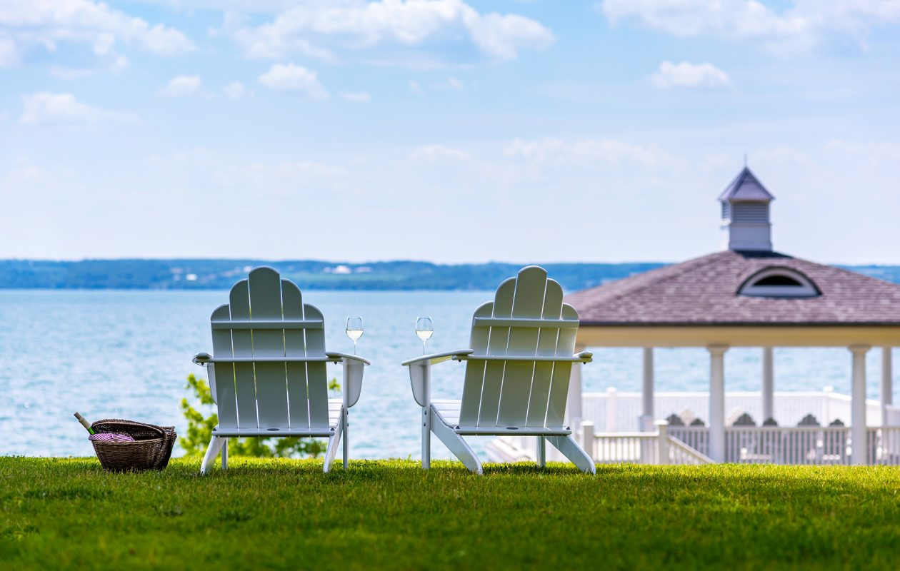 Inns of Aurora offers four properties perfect for a mini-moon, nestled on the shore of Cayuga lake.
