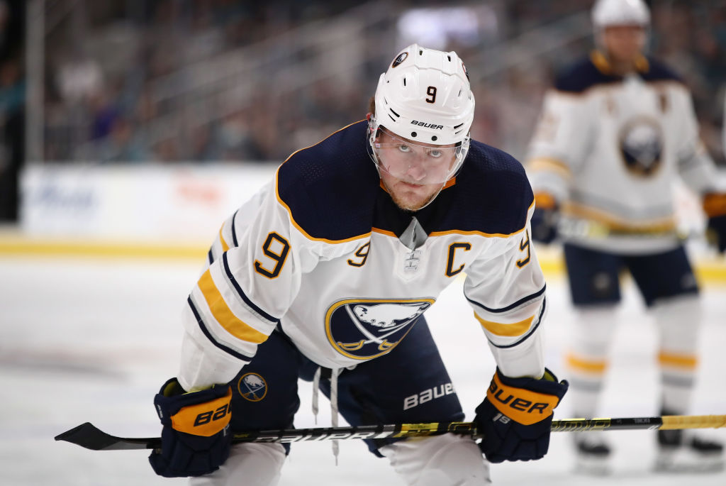 Sabres' shots keep coming but goals dry up