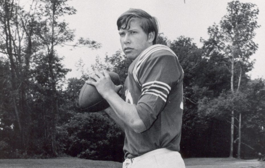 Ron Jaworski was a star athlete at Lackawanna High School. (News file photo)