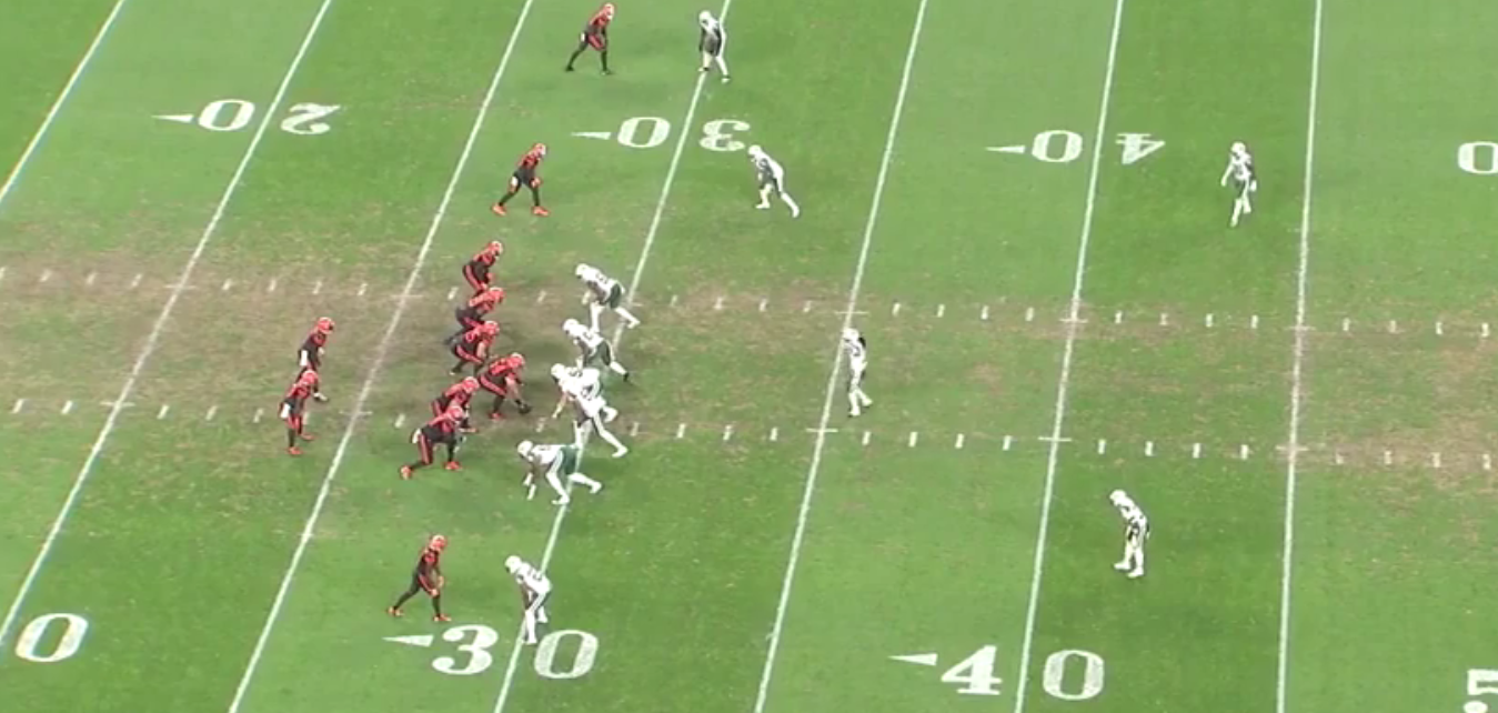Play to Watch: Jets show interior blitzes