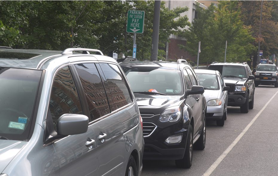 Street parking is one option in downtown Buffalo. (John Hickey/News file photo)