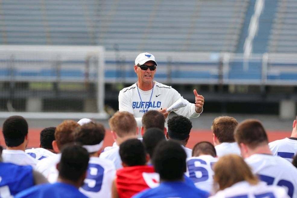 UB football coach Lance Leipold. (John Hickey/Buffalo News)