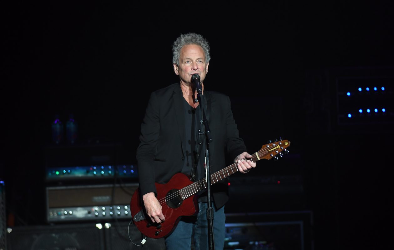 Lindsey Buckingham pulled songs from his Fleetwood Mac and his solo career, for a concert at the Rivieria Theatre. (Photo by Nancy J. Parisi/Special to The News)