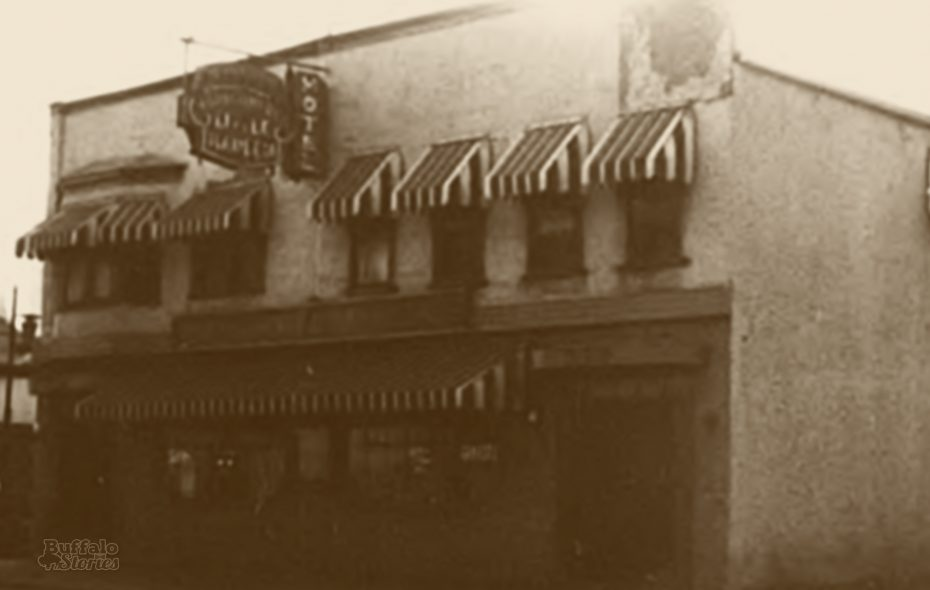 """The Little Harlem Hotel on Michigan Avenue was owned by pioneer African-American businesswoman Ann Montgomery. Both the hotel and nightclub, """"Ann Montgomery's""""  down the street, were listed in every edition of """"The Green Book,"""" which covered Buffalo. The Little Harlem burned down following a 1993 kitchen fire."""