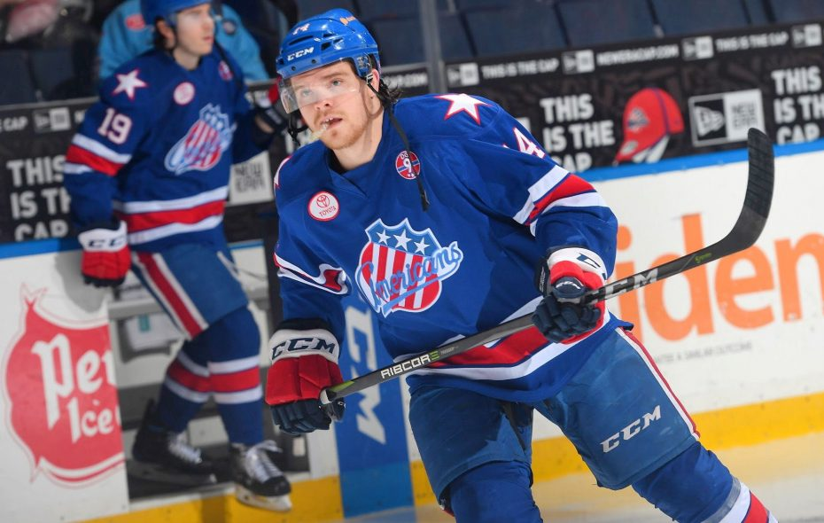 Sean Malone is back in the Amerks' lineup. (Micheline Veluvolu/Rochester Americans)