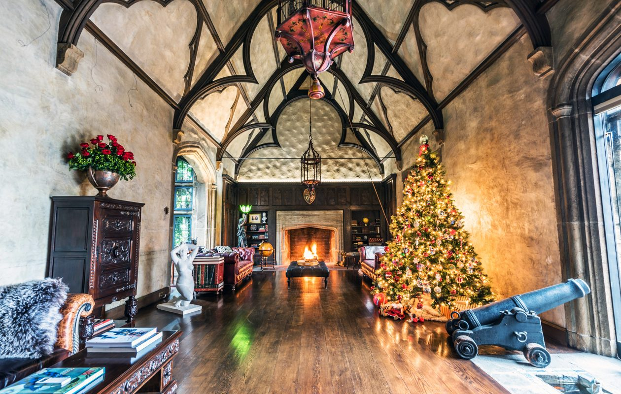 Noel Sutton is the newest owner of E.B. Green's architectural masterpiece, the Mayfair Lane Castle. (Matthew Digati)
