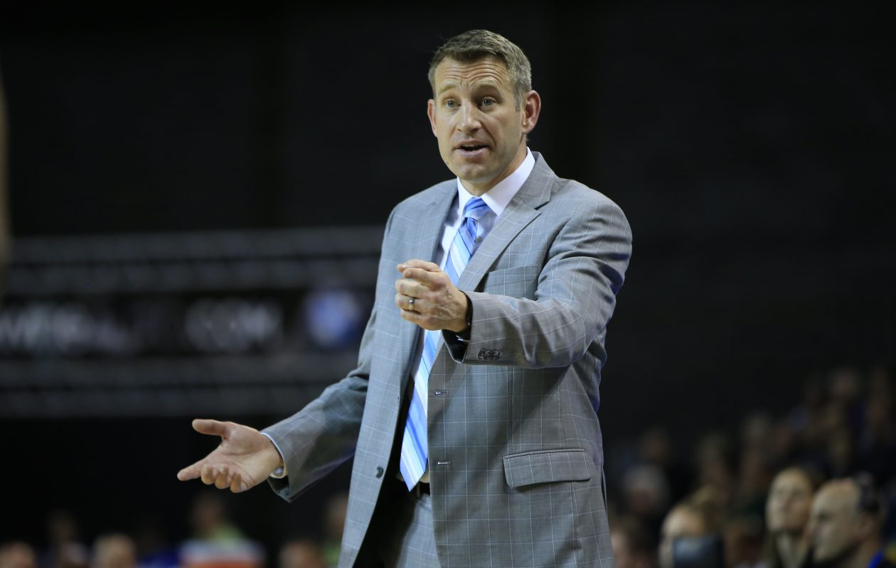 Alabama men's basketball coach Nate Oats. (Harry Scull Jr./News file photo)
