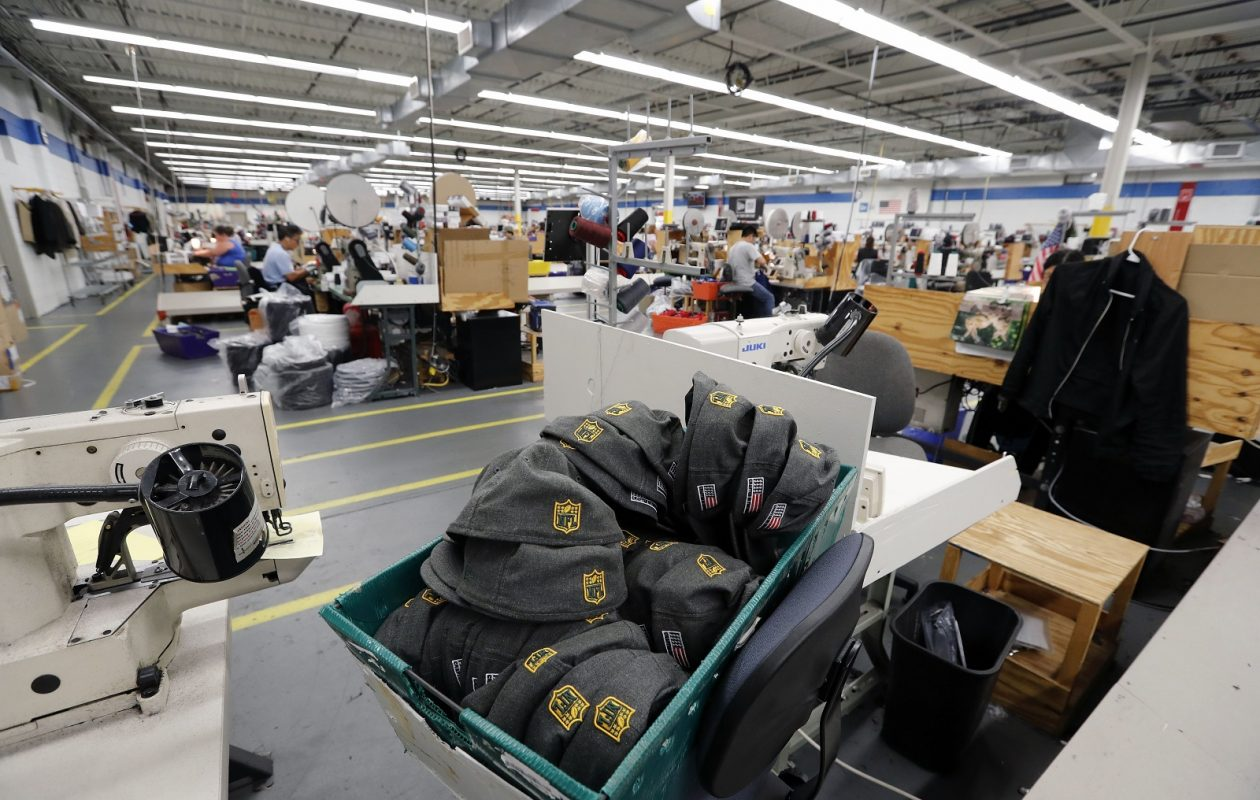 New Era Cap s Derby facility is home to approximately 219 workers who will  lose their jobs 5a7f40df5ce