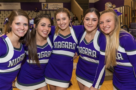 Welcome back, college basketball! The Big 4 clash between Niagara and St. Bonaventure rolled on Monday, Nov. 12, 2018, in the Gallagher Center. See the Purple Eagles and Bonnies fans who supported their teams.