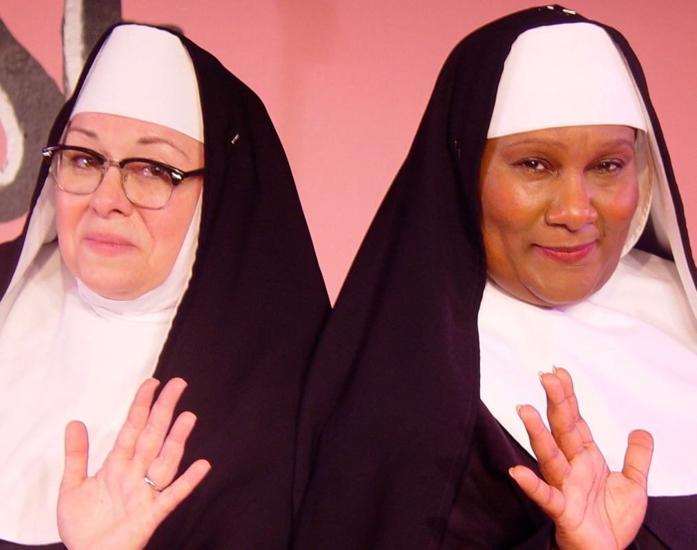 Mary Kate O'Connell, left and Mary Craig star in 'Nuncracker: The Nunsense Christmas Musical,' now on stage at O'Connell & Company.