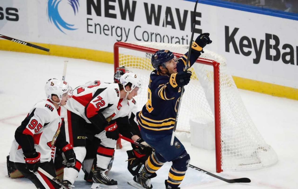 Sabres Notebook: Top line stays red-hot, Dahlin leaves after taking puck to the foot