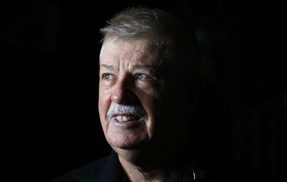 Robert J. Kenefic of Hamburg is a Vietnam War veteran who was awarded two Purple Heart medals. (Robert Kirkham/Buffalo News)