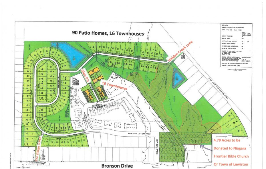 Site plan approved Nov. 15, 2018, for Rubino Brothers Construction's subdivision in Lewiston. (Contributed photo)