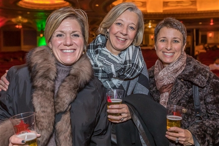Buffalonians took advantage of a chance to get holiday shopping done by exploring the local vendors at Shea's Shopping Soiree on Thursday, Nov. 15, 2018, at Shea's Performing Arts Center. There was free food, a cash bar and more than 60 local businesses strewn around the venue's lobby and theater space.