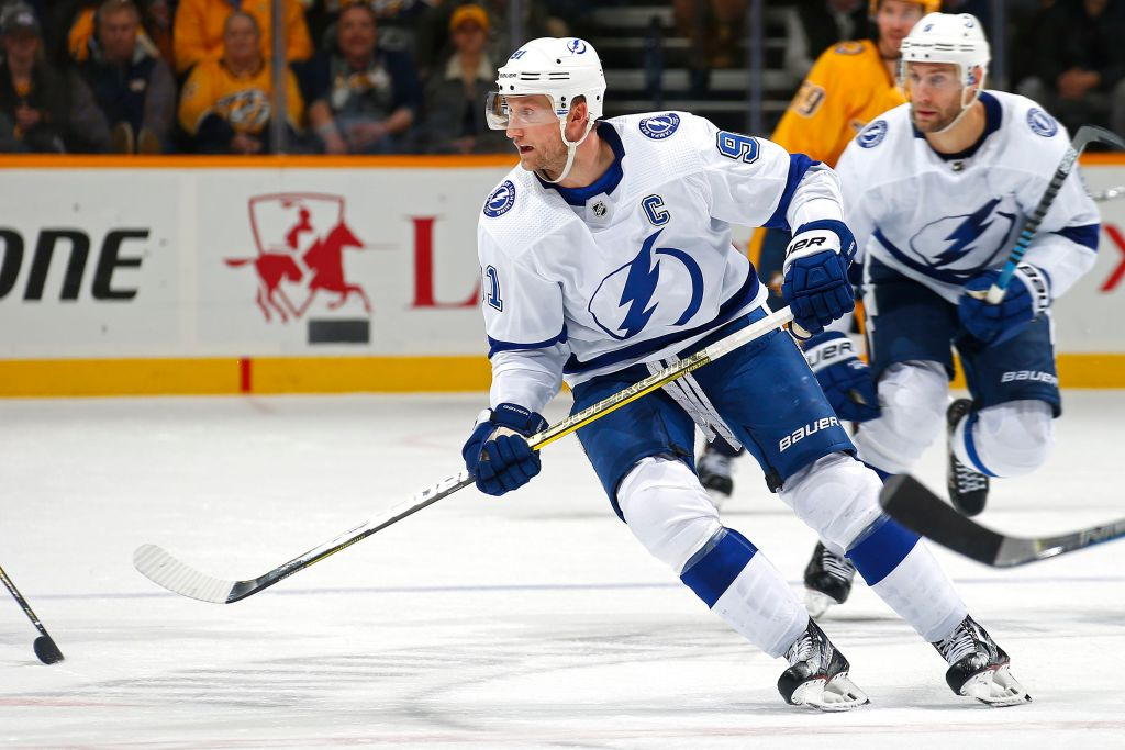 Tampa Bay captain Steven Stamkos has been impressed by the confidence the Sabres have built during their winning streak (Getty Images).