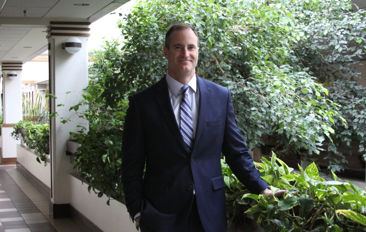 Todd Musterait joined Ecology & Environment last year and now is president of its U.S. operations.