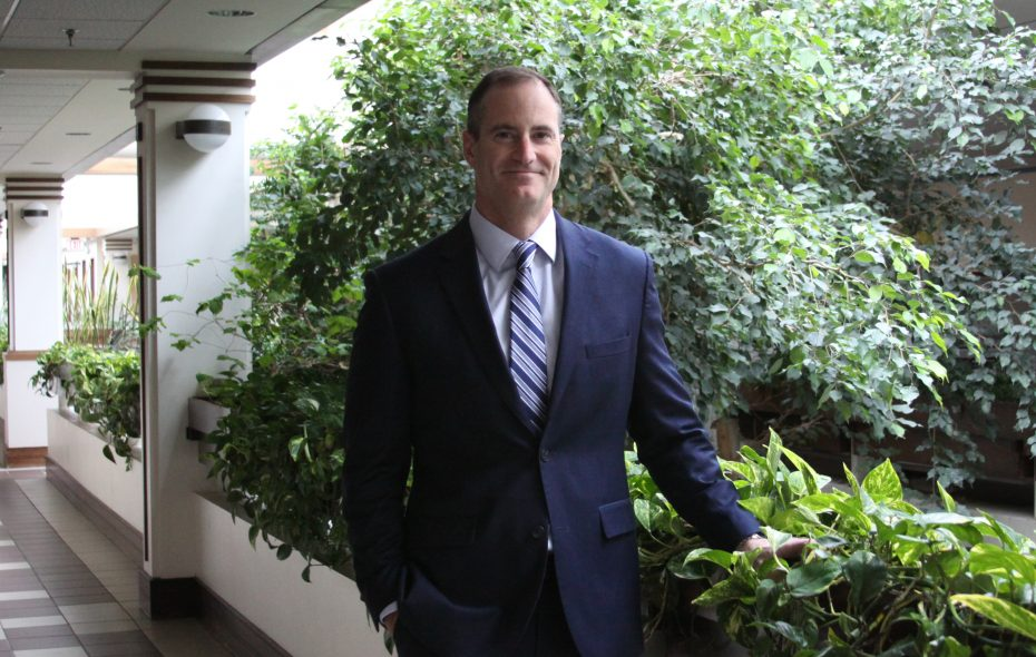 Todd Musterait joined Ecology & Environment in 2017 and now is president of its U.S. operations.
